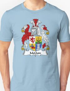 McClain Coat of Arms / McClain Family Crest T-Shirt