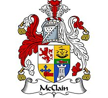 McClain Coat of Arms / McClain Family Crest Photographic Print