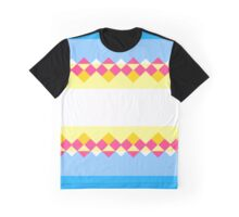 Rhombus and stripes Graphic T-Shirt