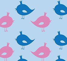 Birdies  by Xinnie