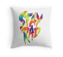 Stay Rad Tie Dye Throw Pillow