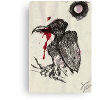 Vulture Doodle Canvas Print