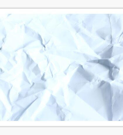 crumpled paper Sticker