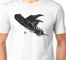 Feather and Raven Unisex T-Shirt
