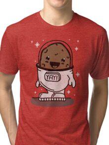 SPACE POTATO ERMAHGERD!! Tri-blend T-Shirt