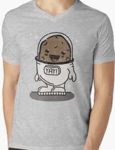 SPACE POTATO ERMAHGERD!! Mens V-Neck T-Shirt