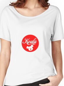 Koala, Sticker Women's Relaxed Fit T-Shirt
