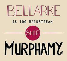 Bellarke is too mainstream by Tardisly