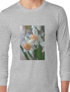 Delicate Daffodils  Long Sleeve T-Shirt