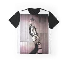 Dreamy girl listening to music Graphic T-Shirt