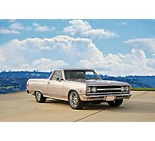 1965 Chevrolet El Camino Photographic Print