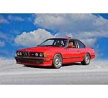 1982 BMW M6 E24 Sports Coupe I Photographic Print