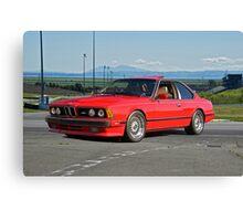 1982 BMW M6 E24 Sports Coupe II Canvas Print