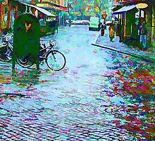 Rainy Day In Malmo by tvlgoddess