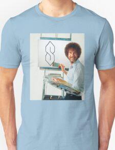 Bob Ross painting weird 'S' Unisex T-Shirt