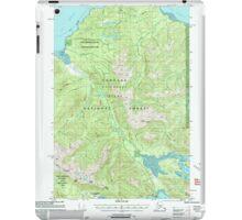 USGS TOPO Map Alaska AK Juneau A-6 356322 2000 63360 iPad Case/Skin