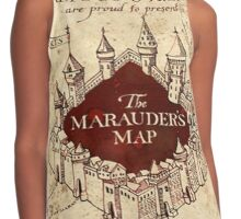 the marauders map full screen TB Contrast Tank