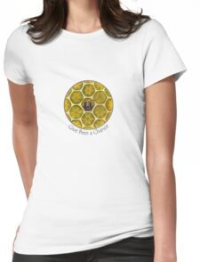 Give Bees a Chance Womens Fitted T-Shirt