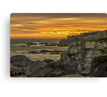 Cape St. Mary Sunset Canvas Print