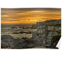 Cape St. Mary Sunset Poster