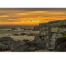 Cape St. Mary Sunset Photographic Print