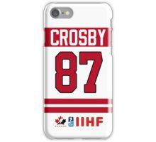 Sidney Crosby Team Canada iPhone Case/Skin