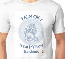 PALM OIL? not in MY forest! series - ele 1 Unisex T-Shirt