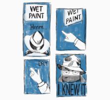 Wet Paint Detective by dejaliyah