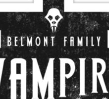 Belmont Clan Sticker