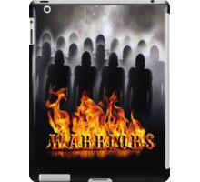 Warriors Flames  iPad Case/Skin