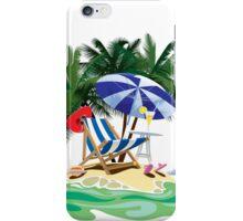 Tropical island iPhone Case/Skin