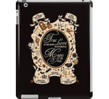 OUAT quotes. Once Upon A Time. V2. iPad Case/Skin
