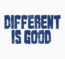 Different is good  Baby Tee