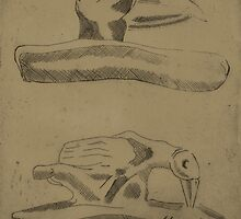 Ceremonial Clay Pipes by Sam Simpson-Crew