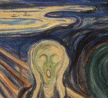 The Scream - Munch Sticker