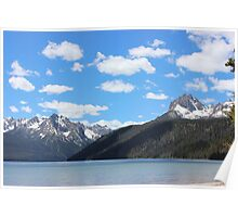 Sawtooth mtns 2- near Stanley ID Poster