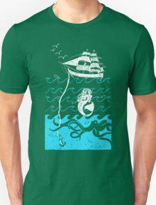 Nautical Waves Unisex T-Shirt