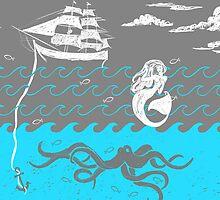 Nautical Waves by dejaliyah