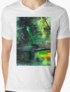 Brook Mens V-Neck T-Shirt