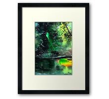Brook Framed Print