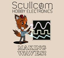 Scullcom, Making Waves Unisex T-Shirt