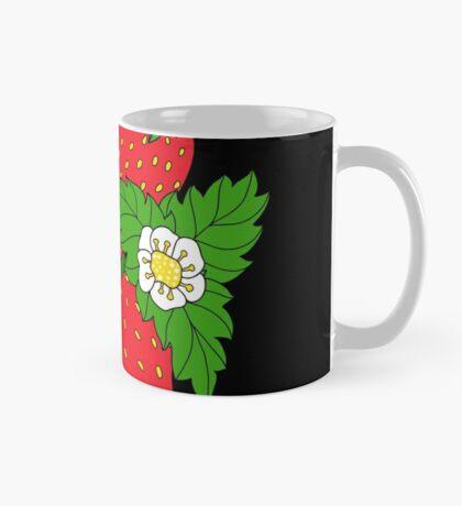 Ripe juicy strawberries Mug