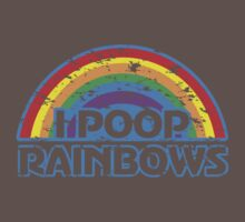 I Poop Rainbows Kids Clothes