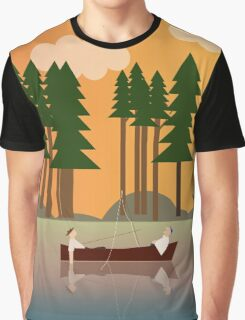 Sunset in the swamp Graphic T-Shirt