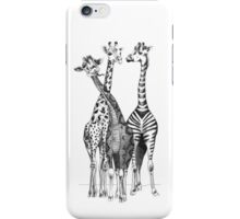 Be Unique, Giraffes iPhone Case/Skin
