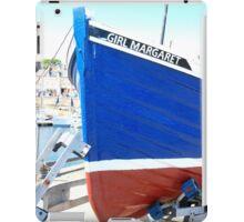 Girl Margaret ~ Anstruther Harbour iPad Case/Skin