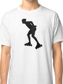 Inline skating skater Classic T-Shirt