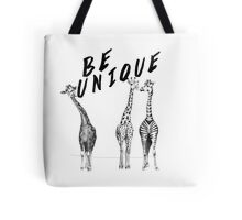Be Unique, Giraffes Tote Bag