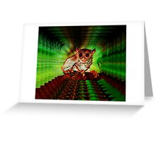 WIRED FOR SOUND Greeting Card