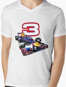 Daniel Ricciardo F1 top driver Mens V-Neck T-Shirt
